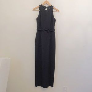 Vintage Laundry by Shelli Segal Long Black Dress